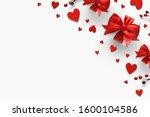 valentines day romantic... | Shutterstock . vector #1600104586