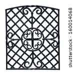 old decorative wrought iron... | Shutterstock . vector #160014068