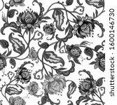 hand drawing graphics.ethnic...   Shutterstock . vector #1600146730
