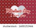 valentine's day design  love... | Shutterstock .eps vector #1600152466