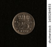 Obverse Of A Former 25 Cent Coin