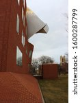 Small photo of Cleveland, Ohio / USA - March 20, 2018: Peter B Lewis Building by Frank Gehry