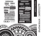 pattern brushes | Shutterstock .eps vector #160031279