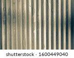 close up zinc metal sheet. zinc ... | Shutterstock . vector #1600449040