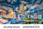Cityscape And Nightview Of...
