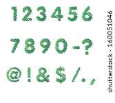 scribble alphabet. part two | Shutterstock .eps vector #160051046