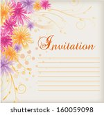 invitation template with...