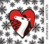 happy new year card illustration   Shutterstock . vector #160073726