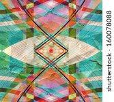 unusual bright colorful... | Shutterstock . vector #160078088