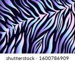 zebra print  animal skin  tiger ...   Shutterstock .eps vector #1600786909