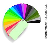 Illustration Of A Color Guide...