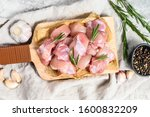Chicken Thigh Fillet Cut Into...