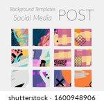 social media story templates.... | Shutterstock .eps vector #1600948906