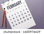 February 2020 Simple Calendar...