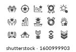 ranking icons. first place ... | Shutterstock . vector #1600999903