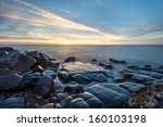 Rocky Shore Of Lake Superior...