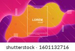 colorful geometric background.... | Shutterstock .eps vector #1601132716