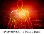 2d illustration human male... | Shutterstock . vector #1601181583
