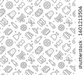 sewing related seamless pattern ... | Shutterstock .eps vector #1601213506