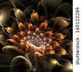 Abstract Floral Fractal...