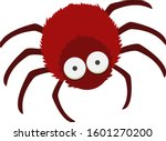 Funny And Cute Scary Red Spider ...