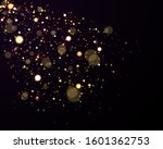 light abstract glowing bokeh... | Shutterstock .eps vector #1601362753