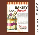 bakery sweet tasty natural... | Shutterstock .eps vector #1601401930