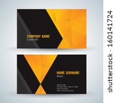 Business Card Abstract...