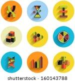 set of abstract geometric flat...