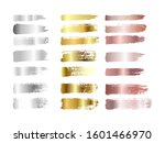 gold   silver and rose gold... | Shutterstock .eps vector #1601466970
