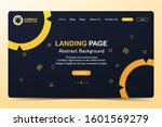 beautiful landing page abstract ...