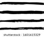 brush strokes paint background... | Shutterstock .eps vector #1601615329