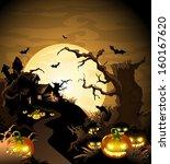 halloween | Shutterstock .eps vector #160167620