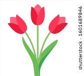 Tulip Vector. Tulips. Flat Ico...
