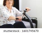 senior training at home. senior ... | Shutterstock . vector #1601745670