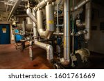 The Piping System Under Tanks...