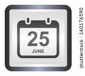 Calendar Date  Elegance Silver...