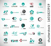 abstract element icon set.... | Shutterstock .eps vector #1601823919