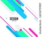 abstract background design...   Shutterstock .eps vector #1601870989