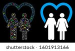 flare mesh marriage icon with... | Shutterstock .eps vector #1601913166