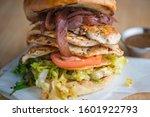 grilled chicken breast sandwich....