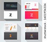 z letter logo professional... | Shutterstock .eps vector #1601956336