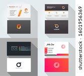 o letter logo professional... | Shutterstock .eps vector #1601956369