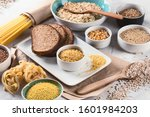 Cereals And Grains. High...