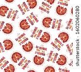 Thanksgiving Turkey Gobble Wobble seamless pattern, thanksgiving dinner background