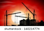 vector silhouettes of three... | Shutterstock .eps vector #160214774