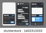 mobile app concept for social...