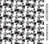 black and white grunge stripe...   Shutterstock .eps vector #1602383356