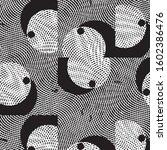 abstract grunge grid stripe... | Shutterstock .eps vector #1602386476