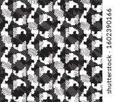 grunge halftone black and white ...   Shutterstock .eps vector #1602390166